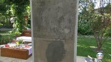 Aprenda como dar efeito de cimento queimado na parede - Mestre de obras, Wescley Pereira ensina