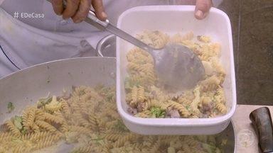 Toque do Ravioli: Chef prepara massa com brócolis e couve flor - Confira a receita!