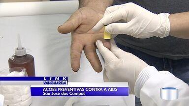 São José tem ação de prevenção à AIDS - A cada ano, cerca de 100 pessoas são diagnosticadas com a doença na cidade.