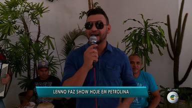 Cantor Lenno está em carreira solo e se apresenta em Petrolina - Hoje é dia de sofrência em Petrolina