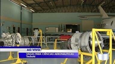 Escola aeronáutica de Taubaté abre inscrições para cursos gratuitos nesta segunda - Ao todo são 81 vagas em três modalidades diferentes.