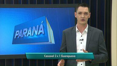 Cascavel vence o Guarapuava jogando em casa - A próxima partida do Cascavel é contra o Francisco Beltrão.