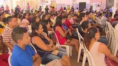Contemplados do Residencial Açucena recebem orientações sobre moradia em apartamentos - Prefeitura de Macapá cumpriu mais uma etapa para a ocupação do conjunto habitacional. Reunião realizada nesta segunda-feira (4) reuniu futuros moradores do local.