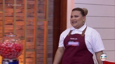 Kessia encontrou a felicidade fazendo hambúrguer profissionalmente - Chef usa temperos do nordeste nos pratos de seu food truck