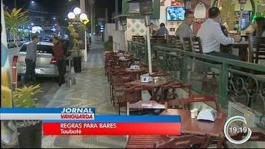 Comerciantes da avenida Itália, em Taubaté, podem ser multados por causa do barulho - Avenida reúne bares e restaurantes.