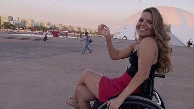 Miss Cadeirante que representará o Brasil em concurso mundial é brasiliense - Carla Maia representará o Brasil no primeiro concurso Miss Mundo Cadeirante, que ocorrerá na Polônia.