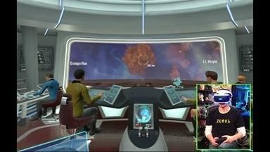 Tiago Leifert joga Star Trek Bridge Crew VR - Apresentador conversa com André Gordirro, especialista no assunto