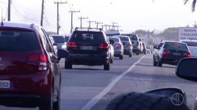 Registro é de grande movimento nas estradas do Norte Fluminense na volta do feriadão - Confira a seguir.