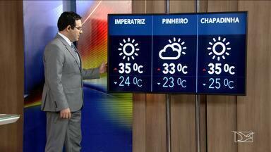 Veja a previsão do tempo nesta segunda-feira (11) no MA - Confira como deve ficar o tempo em São Luís e no Maranhão.