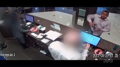 Em 20 dias, cinco hotéis são assaltados em Curitiba - A sequência de roubos tem assustado donos e funcionários de hotéis. A Polícia Civil está investigando os casos.