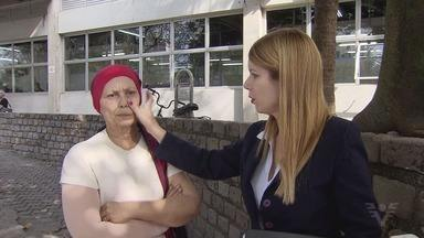 Paciente denuncia falha em quimioterapia aplicada em hospital de Santos - Problema ocorre no Hospital Guilherme Álvaro.