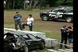 Acidente de trânsito com morte em Caibaté, RS - Um homem de 34 anos morreu ao se perder em uma curva.