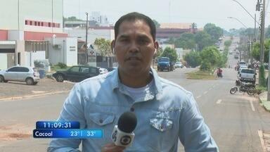 Suspeito de matar a ex-namorada em Vilhena continua internado - Ele foi baleado após assaltar uma agência dos Correios em Rolim de Moura.