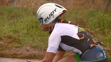 GE traz reportagem especial sobre uma triatleta baiana - Veja na chamada do esporte no Bahia Meio Dia.