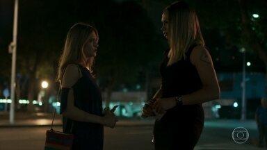 Nonato explica sua história para Simone - Filha de Eurico afirma que guardará segredo