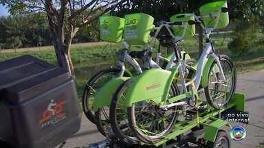 Bicicletas do Programa Integrabike são alvos de vândalos em Sorocaba - As bicicletas do Programa Integrabike, oferecido pela Prefeitura de Sorocaba (SP), têm sido alvos constantes de vândalos. A repórter Mariana Fontes traz mais informações.