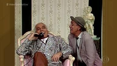 Personagens de Brandão Filho e Paulo Gracindo era diversão garantida - Relembre cena de 'primo pobre e primo rico'