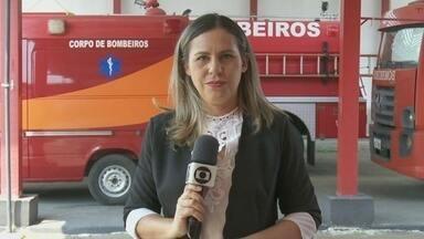Criança de 4 anos fica perdida na mata - Ela ficou 8 horas na mata e foi resgatada pelos bombeiros em Cujubim.