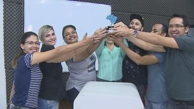 Alunos de Rondônia ganham prêmio nacional de comunicação - Alunos ganharam prêmio em exposição realizada em Curitiba.