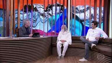 Sri Prem Baba fala sobre sua relação com a classe artística - Mestre espiritual afirma que é preciso ter o controle do ego