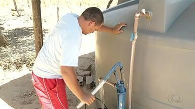 Moradores de São Valério da Natividade estão sem água há pelo menos uma semana - Moradores de São Valério da Natividade estão sem água há pelo menos uma semana