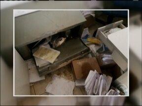 Prefeitura é arrombada em Capão Bonito do Sul, RS - Ladrão levou cerca de 8 mil reais.