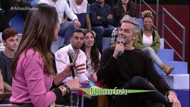 Flávia e Otaviano se conheceram em 2006, enquanto trabalhavam em um cruzeiro - O casal conta que os dois ficaram quase sete dias juntos