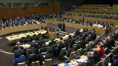 Ameaça norte-coreana deve dominar debates na Assembleia-Geral da ONU - Crítico da ONU, Trump faz visita pela primeira vez como presidente. Na Coreia do Sul, o clima de tensão na fronteira entre os dois países.