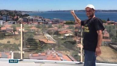 """Capixaba é assassinado em Portugal - Jornais portugueses publicaram que motivo seria """"acerto de contas""""."""