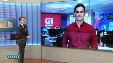Confira os destaques do G1 do Bom Dia Ceará desta terça-feira (19) - Saiba mais em g1.com.br/ce