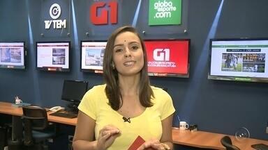 Natália de Oliveira traz os destaques do G1 Sorocaba e Jundiaí nesta terça-feira - A repórter Natália de Oliveira traz os destaques do G1 Sorocaba e Jundiaí nesta terça-feira (19).