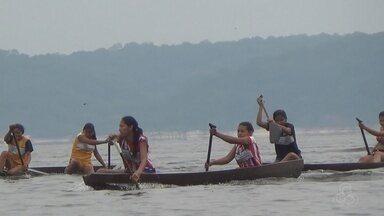 No AM, mais de 200 competidores participam da olimpíada da floresta - Evento ocorreu no município de Itapiranga.