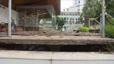Memorial Cruz e Sousa está abandonado e sem previsão de reabertura - Memorial Cruz e Sousa está abandonado e sem previsão de reabertura