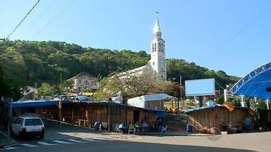 Acampamento Farroupilha de Muçum vira atração turística da região - O município recebe em torno de 40 mil visitantes.