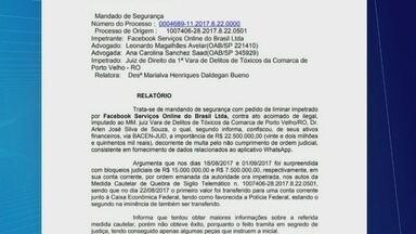 Justiça de Rondônia bloqueia quinze milhões de reais de aplicativo - Parte do valor foi transferido para uma conta da polícia.