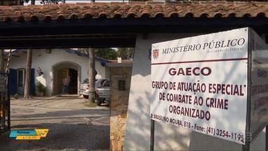 Gaeco investiga esquema de recebimento de propina por funcionários públicos - Caso ocorreu entre funcionários da delegacia de Almirante Tamandaré.
