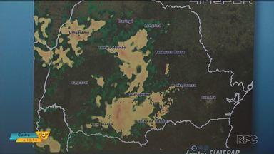 Tempo: Alerta de temporais para o Paraná - Áreas de instabilidade deixam as nuvens mais carregadas a partir da tarde desta sexta-feira (29)