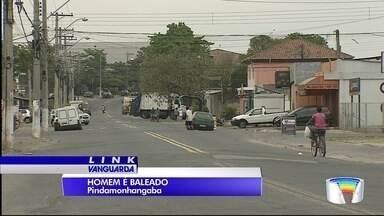 Polícia investiga tentativa de homicídio em Pinda - Jovem de 23 anos foi baleado no Araretama.