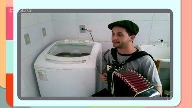 Barulho de máquina de lavar é utilizado como acompanhamento musical por algumas pessoas - Confira a criatividade dos músicos!