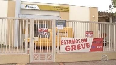 Greve dos Correios compromete entrega de encomendas em cidades de MS - Paralisação continua, mesmo após decisão do Tribunal Superior do Trabalho, que considera a greve abusiva.