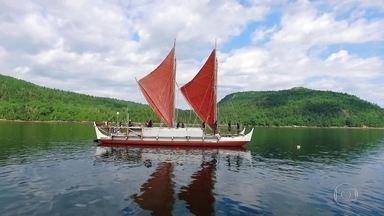 Havaianos cruzam mundo em canoa sem GPS, mapa ou computador - Grupo resgatou conhecimentos milenares para recriar essa aventura. E tem até brasileiro na história!