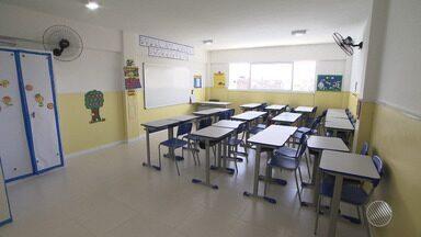 Escola Municipal de Novo Marotinho volta a funcionar após dois anos de obras - O antigo prédio estava com tantos problemas que teve de ser demolido. Confira na reportagem.