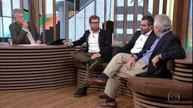 Carlos Andreazza e Ricardo Rangel discutem sobre liberdades individuais - Os escritores também falaram sobre o panorama político brasileiro