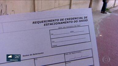 Agendamento para cartão de idoso terá que ser feito antes pela internet - A partir desta segunda (9) agendamento para cartão de idoso, que dá direito a estacionar em vagas demarcadas,tem que ser agendado antes na internet. A medida vale para toda a cidade de São Paulo.