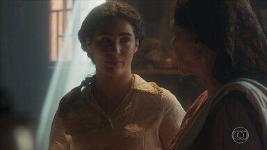 Em Portugal, Henriqueta e Angélica temem por Maria Vitória - Angélica pensa numa maneira de ajudá-la