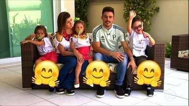 Conheça a história de Daniel, filho adotivo do atacante Willian, do Palmeiras - Conheça a história de Daniel, filho adotivo do atacante Willian, do Palmeiras