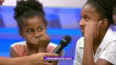 Conheça a Gabi e a Graciele, irmãs que estão prontas para adoção - Conheça a Gabi e a Graciele, irmãs que estão prontas para adoção