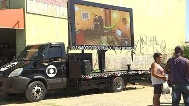 Caravana da TV digital chega em Ribeirão das Neves, na Grande BH - Sinal analógico será desligado no dia 8 de novembro.