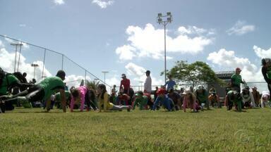 Quarta edição do Trekking Kids é realizada em Maceió - Evento infantil é uma espécie de rally a pé.