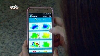 Parte 2: Veja com aplicativo da Embrapa tem ajudado produtores rurais - Aplicativo mostra informações sobre condições climáticas.